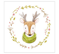 Spring Deer Wall Art