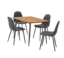 Seaforth 5 Piece Dining Set With Mambo Chairs