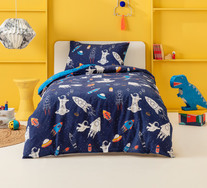 Spaceman Single Quilt Cover Set