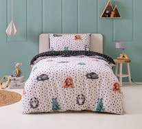 Sleepy Bears Single Quilt Cover Set