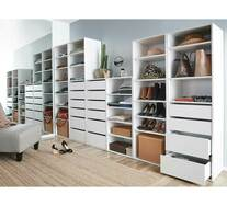 Tailor 3 Shelf 4 Drawer Storage Unit