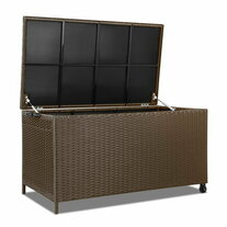 Topaz Outdoor Wicker Storage Box