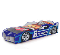 Turbo Race Car Kids Single Bed