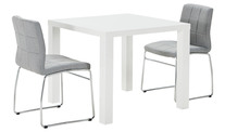 Verona 3 Piece Dining Set With Esp Chairs