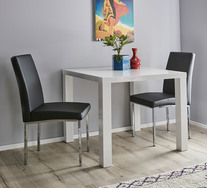 Verona 3 Piece Dining Set with Eve Chairs