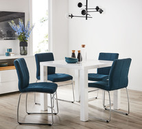 Verona 5 Piece Dining Set with Esp Chairs