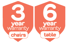 3 and 6 year Warranty!
