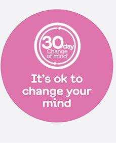 It's ok to change your mind!