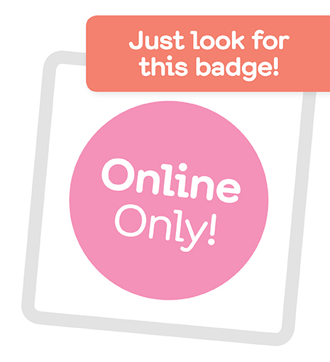 Just look for this badge!